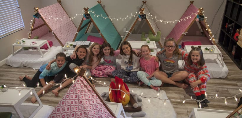 AZ Sleepy Teepee The Ultimate Sleepover Phoenix Kids Birthday Parties and Entertainment Scottsdale (102)