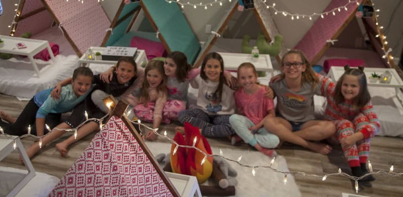 AZ Sleepy Teepee The Ultimate Sleepover Phoenix Kids Birthday Parties and Entertainment Scottsdale (103)