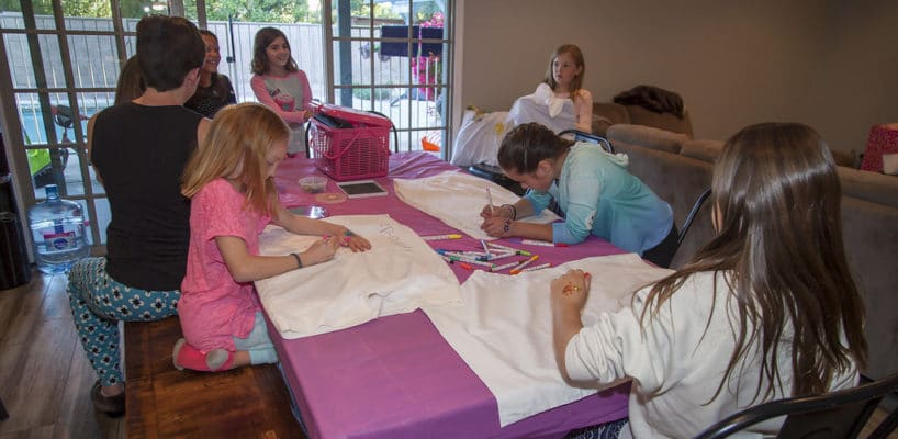 Sleepy Teepee The Ultimate Sleepover Phoenix Kids Birthday Parties and Entertainment Scottsdale (108)