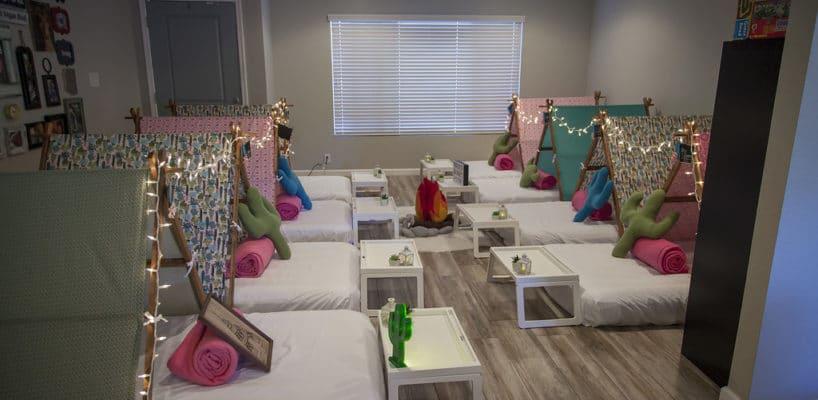 Sleepy Teepee The Ultimate Sleepover Phoenix Kids Birthday Parties and Entertainment Scottsdale (60)