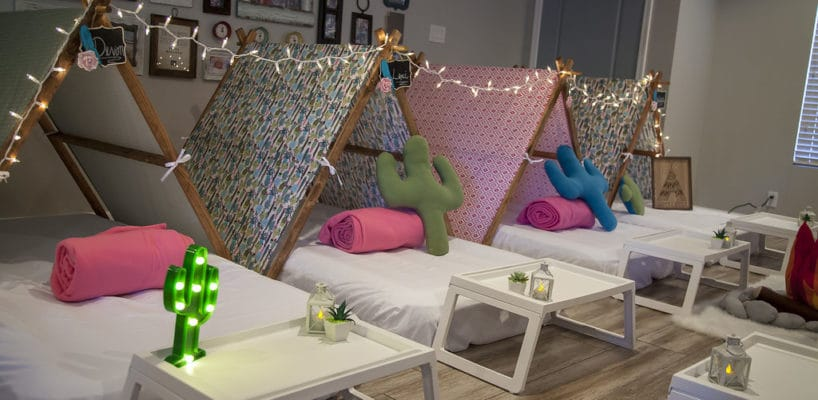 Sleepy Teepee The Ultimate Sleepover Phoenix Kids Birthday Parties and Entertainment Scottsdale (64)