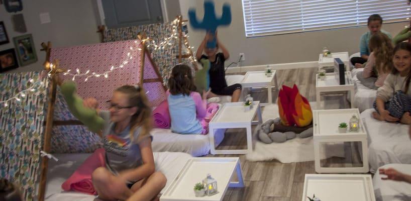 Sleepy Teepee The Ultimate Sleepover Phoenix Kids Birthday Parties and Entertainment Scottsdale (84)
