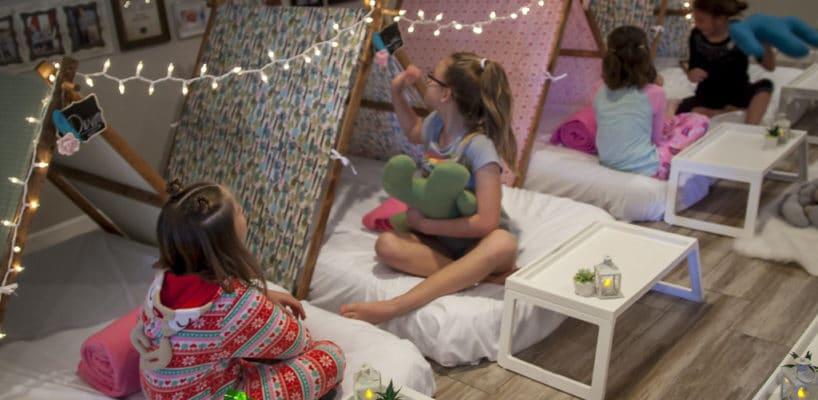 Sleepy Teepee The Ultimate Sleepover Phoenix Kids Birthday Parties and Entertainment Scottsdale (85)
