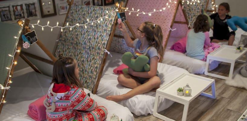 Sleepy Teepee The Ultimate Sleepover Phoenix Kids Birthday Parties and Entertainment Scottsdale (86)