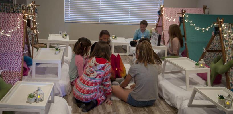 Sleepy Teepee The Ultimate Sleepover Phoenix Kids Birthday Parties and Entertainment Scottsdale (91)