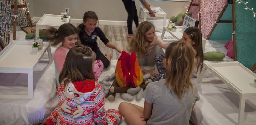 Sleepy Teepee The Ultimate Sleepover Phoenix Kids Birthday Parties and Entertainment Scottsdale (95)