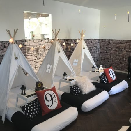Magical Wizards Party Theme Teepee Party Harry Potter Theme Sleepy Teepee unique party experience, slumber parties (1)