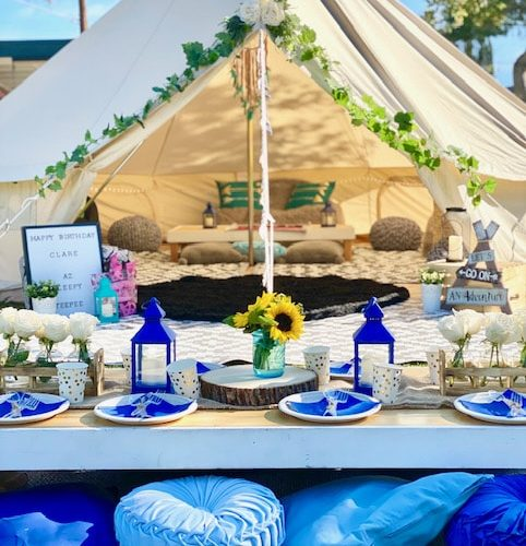 Sleepy Teepee themes Your Ultimate Sleepover or Slumber-Under Party Options scottsdale teepee rental (2)
