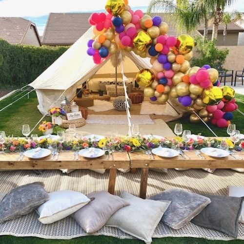 Sleepy Teepee themes Your Ultimate Sleepover or Slumber-Under Party Options scottsdale teepee rental (4)